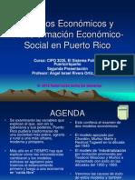 Modelos Economico y transformacion en PR