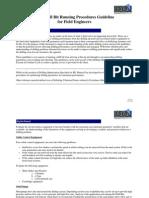 PDC Bit Running Procedures DDI
