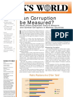 Masurarea coruptiei
