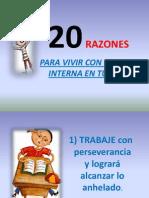 20 RAZONES