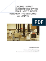 CIRM Economic Impact Report 2012