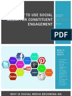 How to Use Social Media for Constituent Engagement