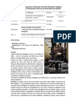 Ficha de Trabalho Filme Modigliani _PedroSilvaN17