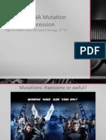 BIO3 - Mutations