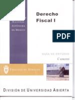 Derecho Fiscal 1