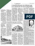 Finalización Proyecto Estación FFCC San Pedro (Quillota)
