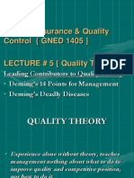 Contributors to Quality Theory