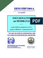 Emulsionacion Con Membranas