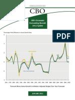 CBO's Economic Forecasting Record