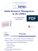 CDMA Radio Resource Management