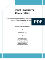 National Cranberry HBS case solution