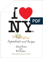 I Love New York by Daniel Humm and Will Guidara - Recipes and Excerpt