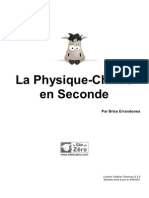 351894 La Physique Chimie en Seconde