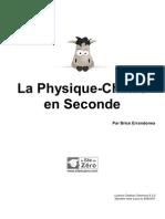 351894 La Physique Chimie en Seconde