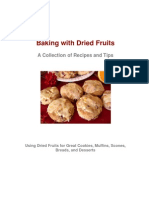 Baking with Dried Fruits