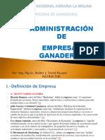 Administracion de Empresas Ganaderas 2012