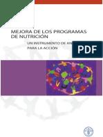 Mejora de los programas de nutrición