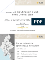 Governing the Chinese in multiethnic colonial Burma