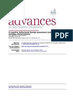CBT Formulation Journal