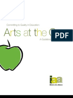 Committing to Quality in Education—Arts at the Core