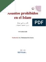 Asuntos Prohibidos en El Islam