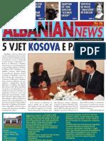 ALBANIAN NEWS FEBRUARY 2013