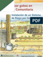 2005 - El Riego Por Goteo en La Huerta Comunitaria