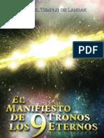 Publication Manifiesto de Los 9 Tronos