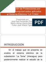 """Coordinación de Protecciones por Métodos Computarizados aplicados al Sistema Eléctrico """"LA TOMA"""""""