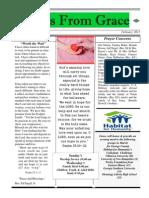 Grace's Newsletter for February 2013