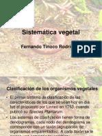 Sistemática vegetal filogenia