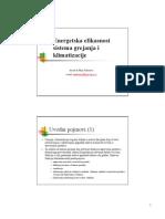 01-Predavanje_Termicki-komfor  docent dr Maja Todorovic