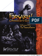 Werewolf the Forsaken - Forsaken Chronicler's Guide - III - To Transform