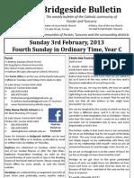 2013-02-03 - 4th Ordinary Year C
