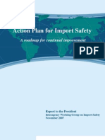 Import Safety WG - Action Plan for Import Safety - 6 Nov 2007
