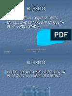 EL EXITO
