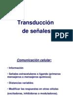 fundamentos de la transducción de señales kine