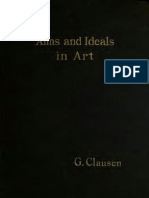 Aims and Ideals in Art