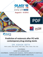 Prediction of Restenosis After PCI with Contemporary Drug-Eluting Stents.