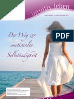 intuitivLEBEN Magazin | 2012_12 | Der Weg zur emotionalen Selbständigkeit