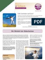 intuitivLEBEN Magazin | 2009_11 | Die Weisheit der Geburtsvision