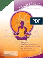 intuitivLEBEN Magazin | 2012_07 | Wer in seiner Mitte ruht, kann nicht entwurzelt werden, Meditation, intuitive dance