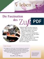 intuitivLEBEN Magazin | 2011_01 | Die Faszination des Zufalls, Synchronizitäten