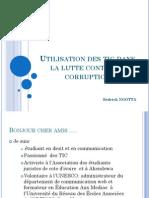 Utilisation Des Tic Dans La Lutte Contre La Corruption by Sédrick NGOTTA