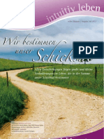 intuitivLEBEN Magazin | 2012_07 | Wir bestimmen unser Schicksal, Energiearbeit