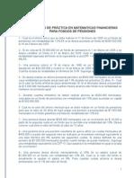 Ejercicios Matematicas Financieras