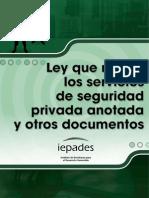 Ley Que Regula Los Servicios de Las Empresas de Seguridad Privada