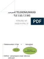 dasar telekomunikasi