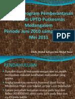 Evaluasi Program Pemberantasan Diare Di UPTD Puskesmas Medangasem