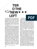 """Letter to the New Left,"" by C. Wright Mills"
